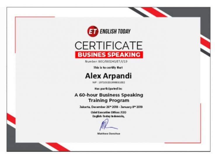 English Today Online Platform 100%
