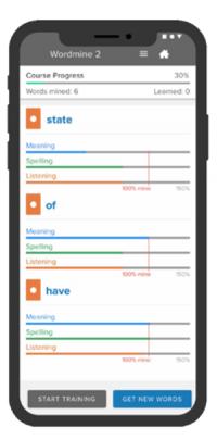 WordMine Phone 4